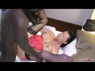 Black man is drilling a german housewifes pussy from the front and from the back perfect girls (2)