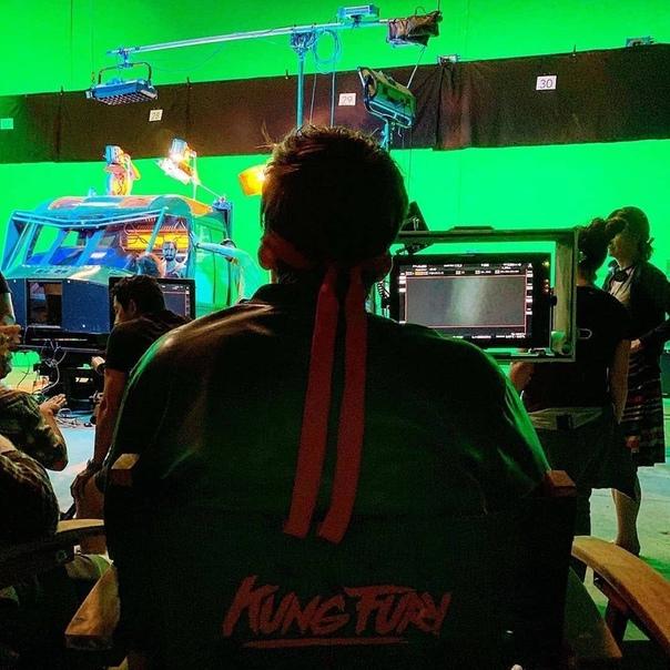 Новые фото со съёмок второго «Кунг Фьюри»