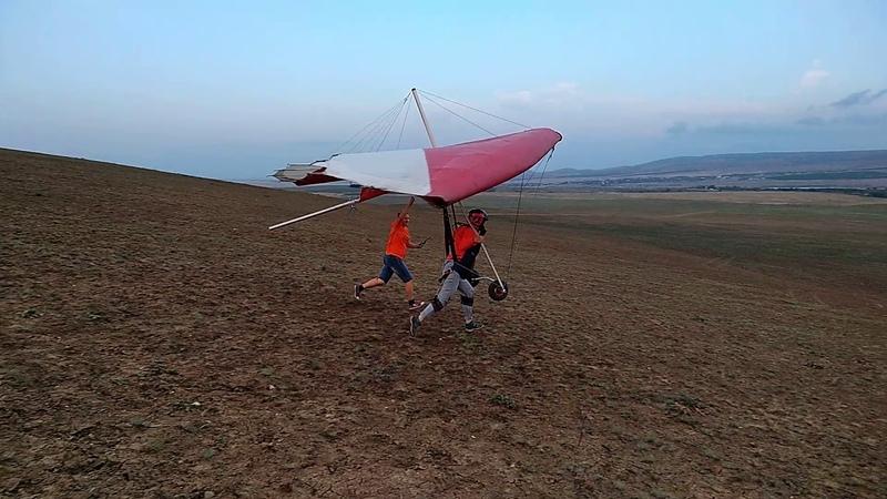 My first hang-gliding flight