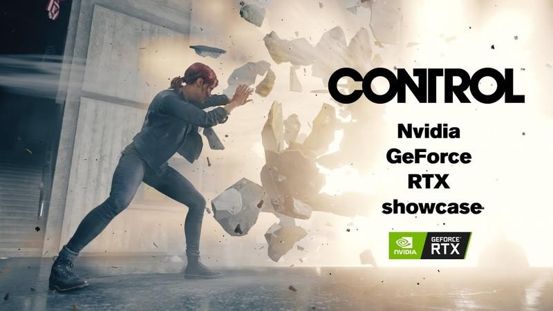 [Норка Орка] Control - GeForce RTX Real-Time Ray Tracing Demo - GDC 2019