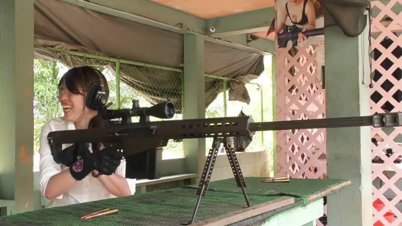【バレット編】グアムで実銃射撃にチャレンジ!【GOSR】(5_⁄5)