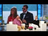 Adam Sandler and Jennifer Anistons Pizza Party with George Clooney
