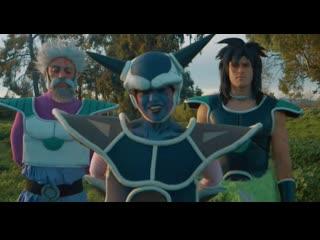 HOOD DRAGON BALL SUPER pt.1 (full video) Goku vs Broly