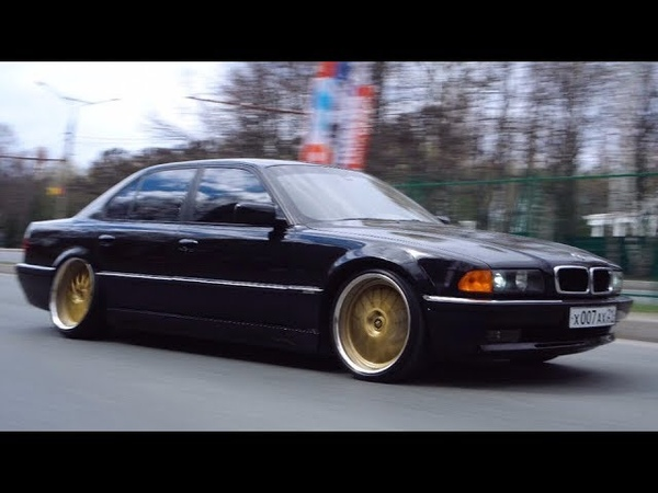 BMW E38 за 1000000 на пневме. Anton Avtoman.