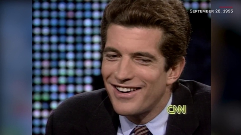 John F. Kennedy Jr. - Larry King Interview (September 1995) HD