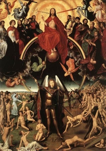 « одного шедевра». «Страшный суд», Ганс Мемлинг ок. 14611473гг. Дубовая доска, масло. Национальный музеей, Гданьск, Польша. Триптих «Страшный суд» или «Алтарь Якопо Тани» является один из ранних