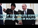 Bolivian President Evo Morales Visits Russia's Putin And Agrees Crucial Lithium Deal