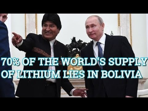 Bolivian President Evo Morales Visits Russia's Putin And Agrees Crucial Lithium Deal!