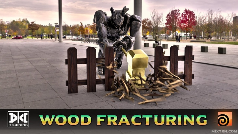 VMT - 053 - RBD Material Fracture Wood