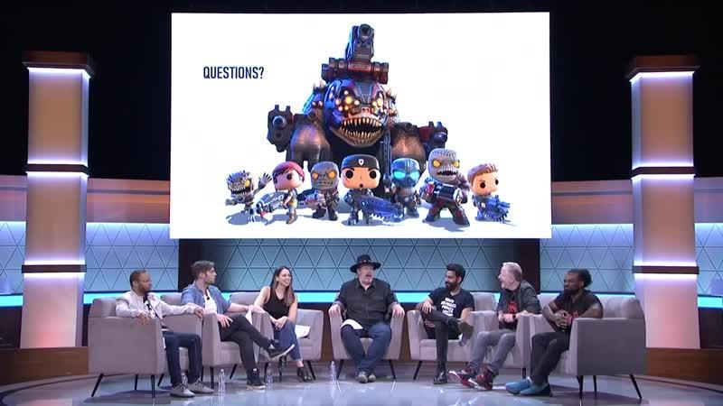 Gears 5 - актёр Ди Маджио (Маркус Феникс) отвечает на вопрос о сексуальной ориентации главной героини Кейт Диаз.