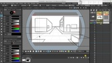 Assistant Tool in OpenToonz One-point Perspective