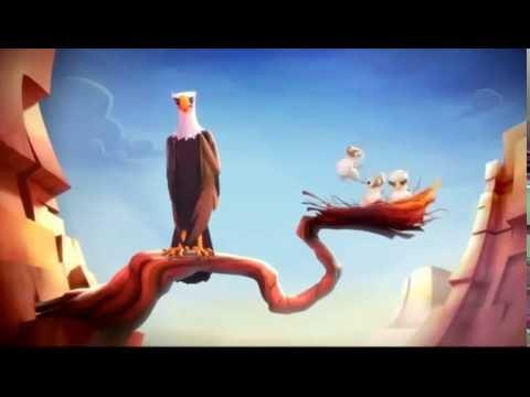 Мультфильм про Орла! Веселый в HD