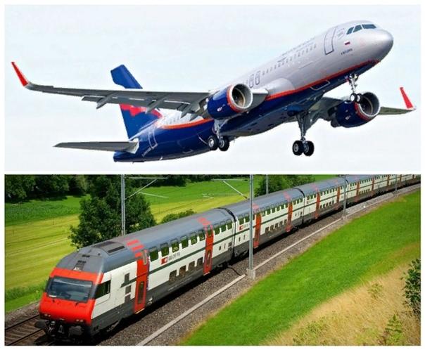 Самолет или поезд: что выбрать