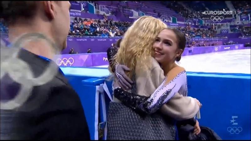 ALINA ZAGITOVA - SP Olympics | КП Олимпиада | С британскими комментариями Eurosport