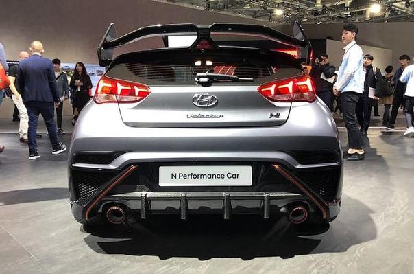Hyundai доработала 275-сильный хот-хэтч Veloster N.
