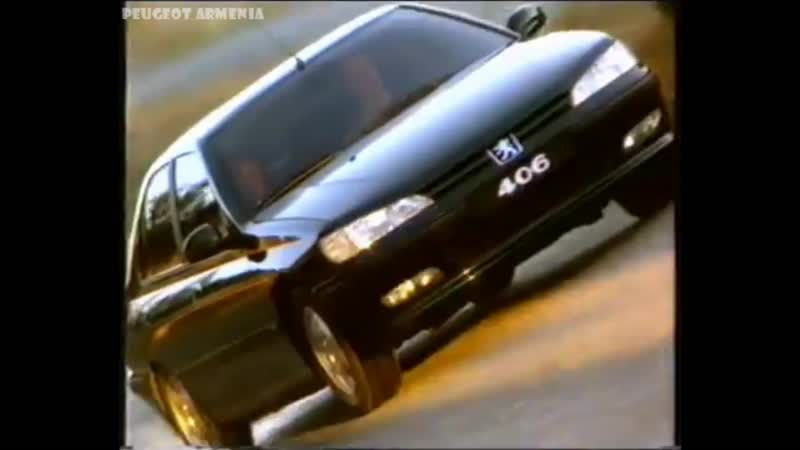 Reklama - Peugeot 406 (1996) - PEUGEOT ARMENIA - Пежо Армения - Պեժո Հայաստան