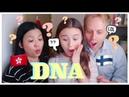 我是誰?混血兒 DNA test Eurasian's DNA test