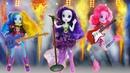 Sherens Schönheitssalon Die kleinen Ponys gehen auf ein Konzert Puppenvideo auf Deutsch