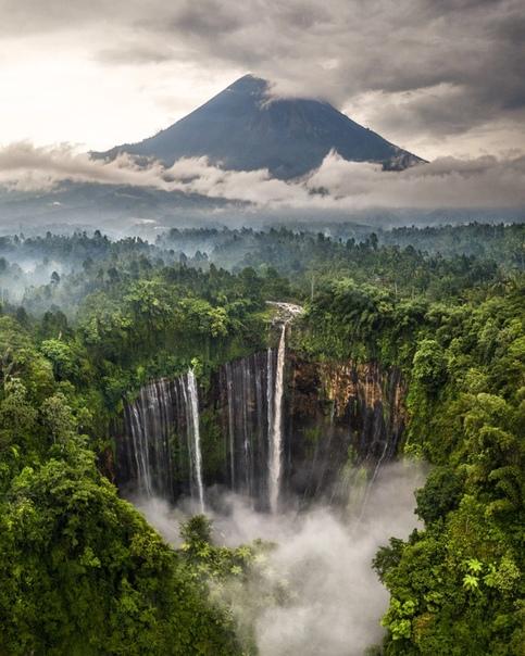Водопад Тумпак Севу (Индонезия, Ява)