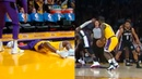 Lance Stephenson shocks the Lakers bench after breaks Jeff Green's ankles with epic crossover