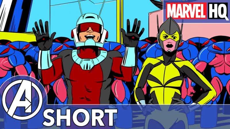 Человек-Муравей и Оса Сражаются с Пришельцами! Marvel Человек-Муравей Эпизод 2 - Инопланетное Вторжение | Marvels Ant-Man