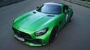 1100 л с Mercedes AMG GT R Зеленый дьявол
