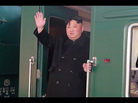 Прибытие поезда Ким Чен Ына во Владивосток. Полное видео