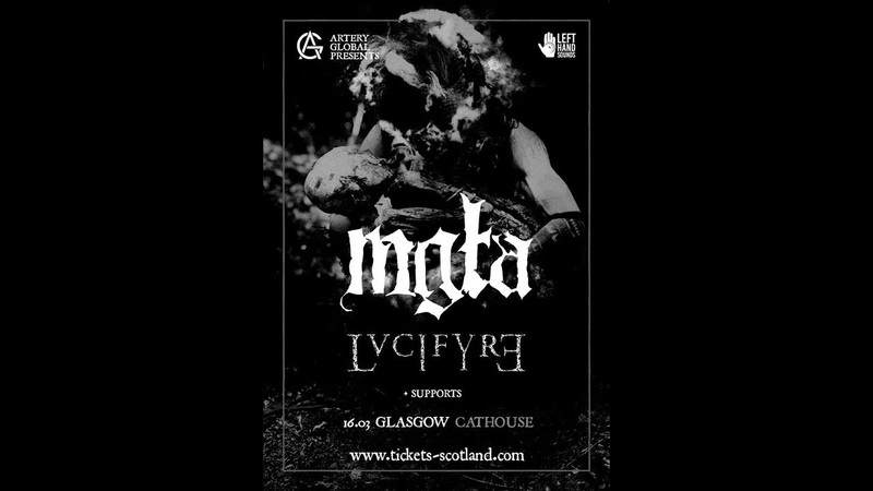 Mgła (POL) - Live at Cathouse, Glasgow 16th March 2019 FULL SHOW HD