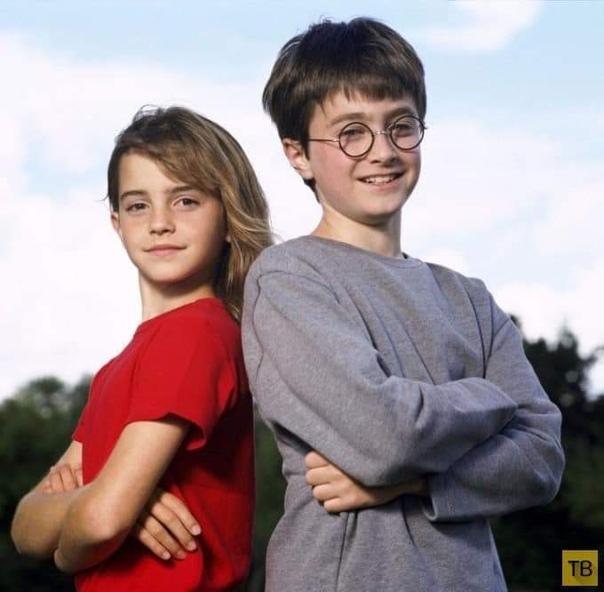"""Окончательный выбор актеров для """"Гарри Поттера"""", 2000 г"""