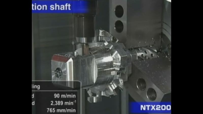 Cnc 6 Axis DMG Mori Technology - NTX 2000