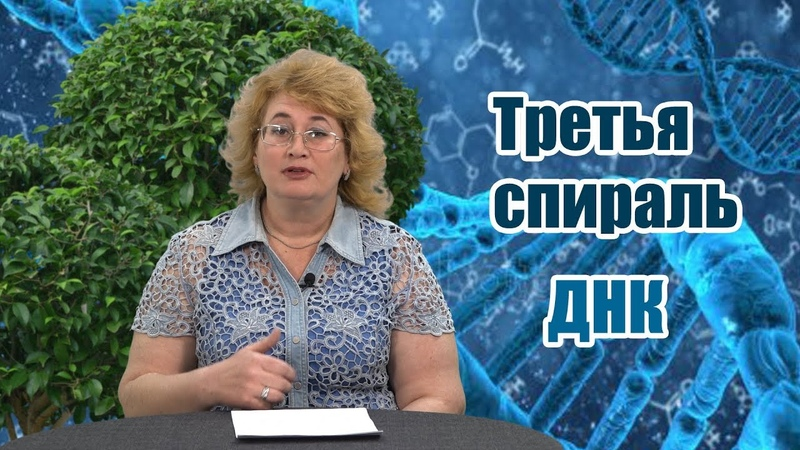 Третья спираль ДНК.