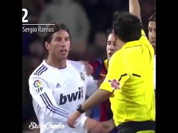 Sergio Ramos против Барселоны   Hala Madrid