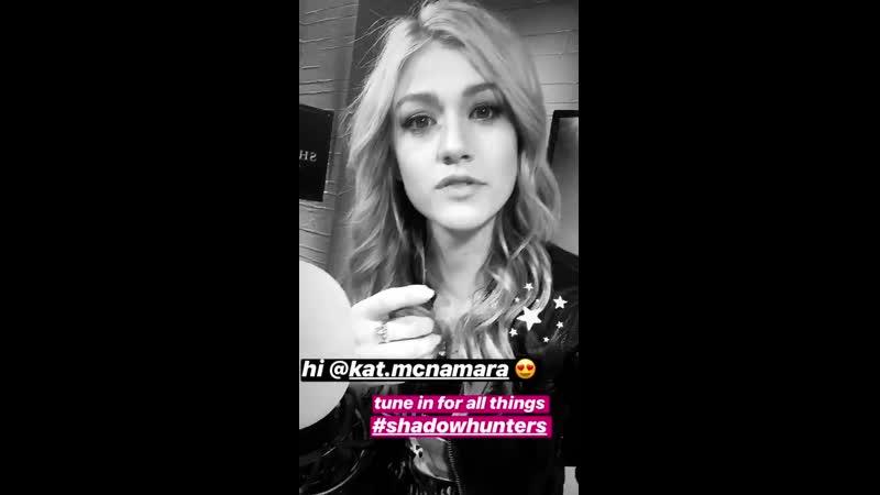 26.03.19|Публикация в «Instagram Story» ток-шоу «AfterBuzz TV»
