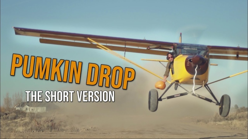PUMPKIN DROP trailer smash! How Bugs built his own Airstrip.
