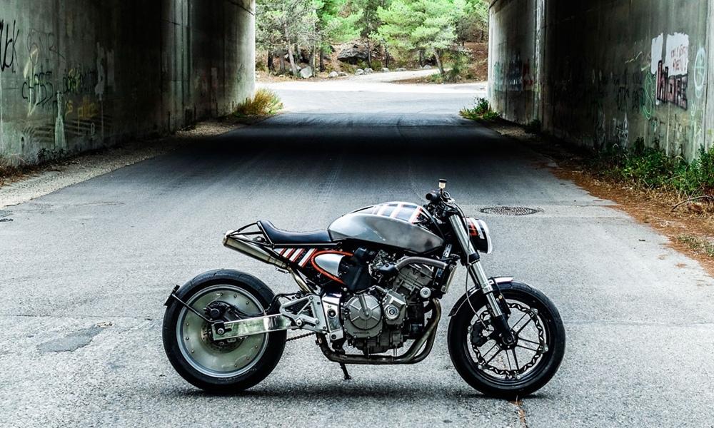 Taverne Motorcycles: кафе рейсер Honda CB600F Hornet