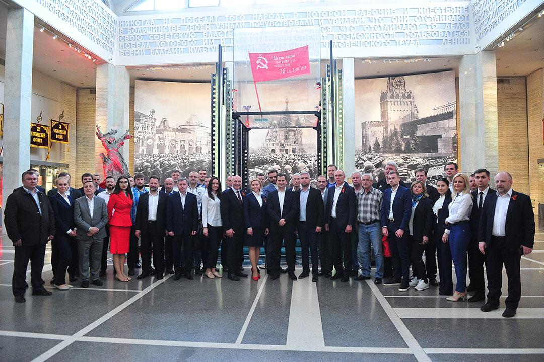«Спартак» принял участие в церемонии, посвященной годовщине Победы
