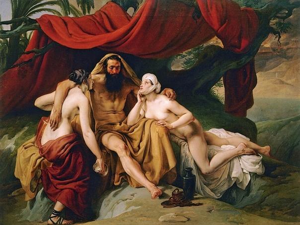 « одного шедевра». «Лот и его дочери», Франческо Айец