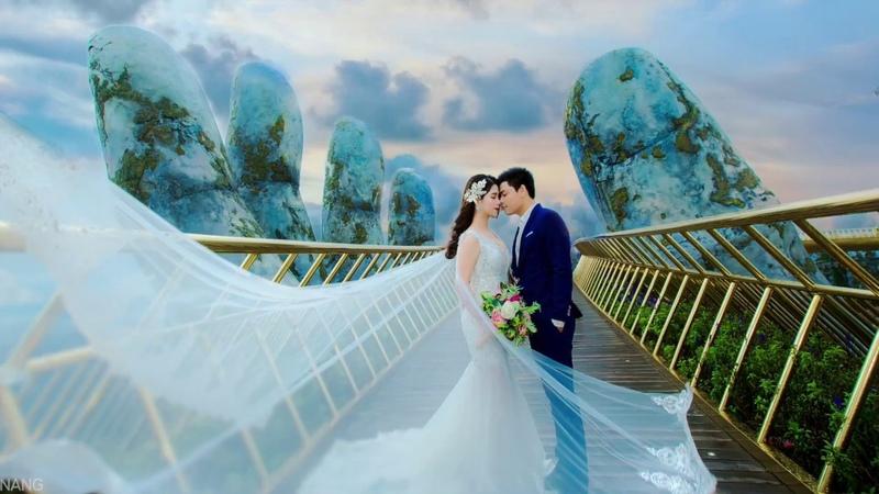 Hậu trường chụp ảnh cưới đẳng cấp -Golden bridge Da Nang- P1 Xuân Lan Studio