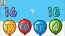 Learn Numbers 1 to 20 with Color Balloons BY The Kids School - Numbers Collection for Children