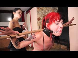 ShadowSlaves - Slavegirl Cary and Mistress Karina - Carys Cruel Training, BDSM, Bondage, Torture Punishment Spanking Toys Orgasm