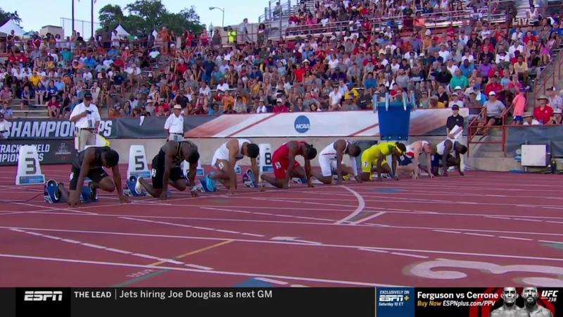 Men's 100m - 2019 NCAA Outdoor Track and Field Championships