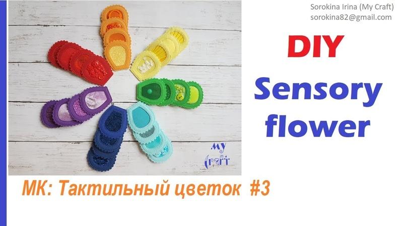 Sensory flower 3 Тактильный цветок 3