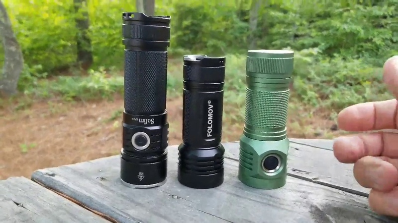 Initial Look at Folomov 26650S, 2000 Lumens, D4S and SP33 comparison