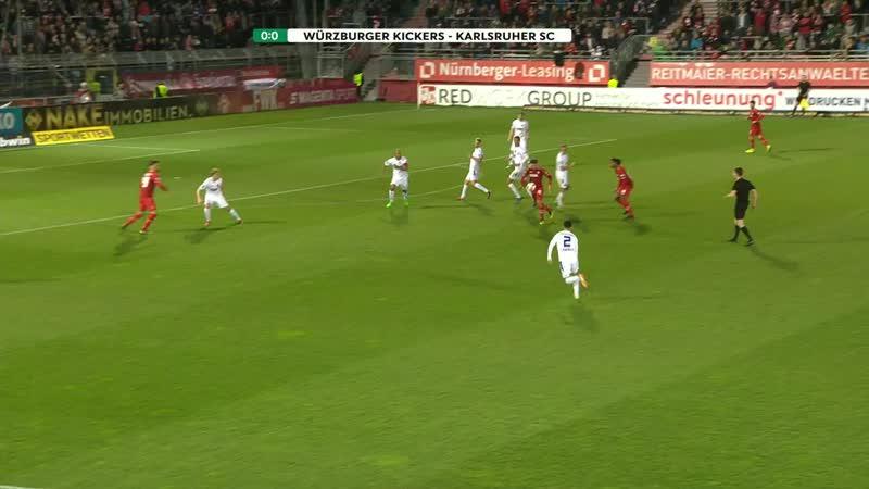 FC Würzburger Kickers 0 0 Karlsruher SC
