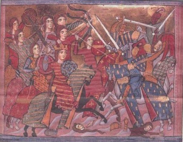 СРЕДНЕВЕКОВЫЕ ВОИТЕЛЬНИЦЫ И ИХ ДОСПЕХИ На протяжении истории человечества, военное дело было в основном мужской провинцией, хотя и женщины иногда участвовали в войнах - в качестве командующих,