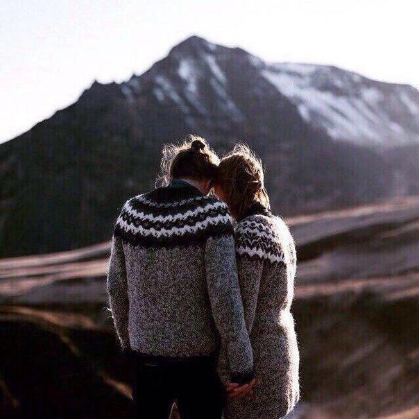 Любовь  это пройти вместе через всё.