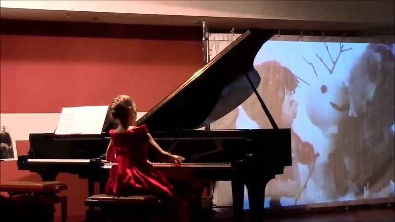 Ольга Иваненко (10 лет). Чайковский - Шалунья из цикла 18 пьес, op. 72