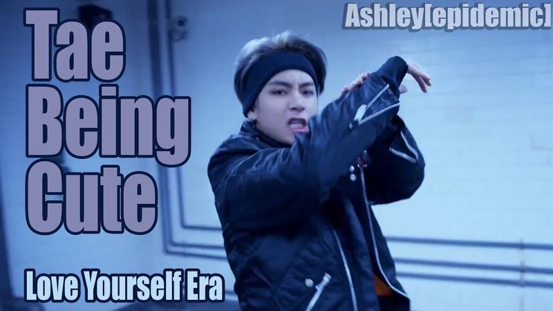 Taehyung Being Cute - Love Yourself Era