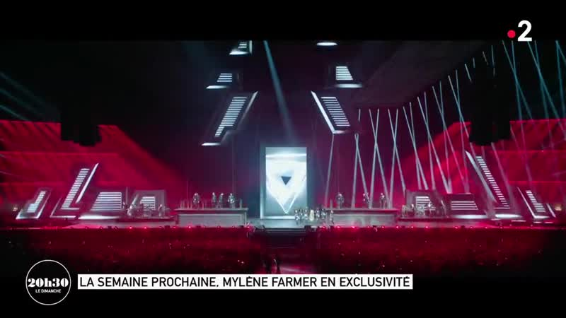 Mylene Farmer - 20h30 le dimanche (France 2, 9 juin 2019)