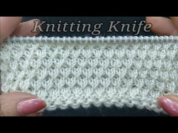 आसान बुनाई का डिज़ाईन । Easy Knit Pattern for Gents Sweaters, Pullovers/Cardigans/Baby Layette/Frock